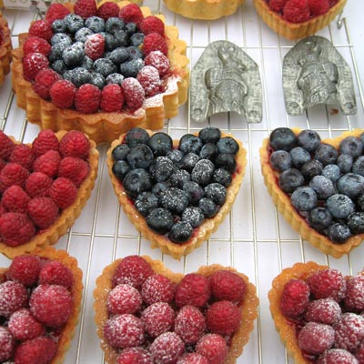 fruit tarts from Coco&#038;Me
