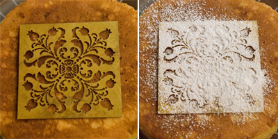 Coco&Me - Buttermilk Pancake recipe with step-by-step pictures of the process - icing pattern - www.cocoandme.com
