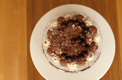 Coco&#038;Me - Black Forest Gateaux with recipe - www.cocoandme.com - Coco and Me